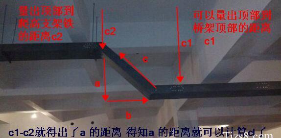 45度桥架弯头_桥架上下坡弯的计算及制作方法实操-江苏金福隆桥架